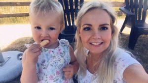 Ginny was extreem misselijk tijdens haar zwangerschap: 'Ik gaf 125 keer per dag over'