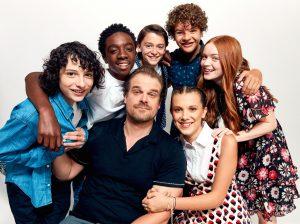 'Stranger Things'-cast komt op voor verdrietige fan op Twitter