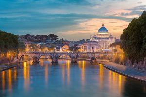 24 uur in Rome: lekker op je Vespa door de stad cruisen