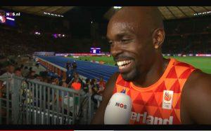 Reactie na verlies Europese titel bewijst weer: Churandy Martina is positiefste sporter ooit