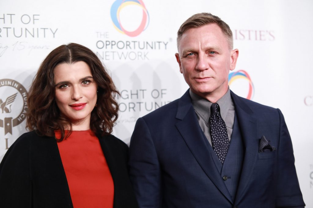 Rachel Weisz (48) en James Bond-acteur Daniel Craig (50) verwelkomen eerste kind samen
