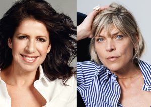 Actrices Isa Hoes en Medina Schuurman duiken theater in met show over overgang