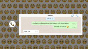 Zo reageren moeders als hun kind een appje stuurt dat écht niet voor hen bestemd was
