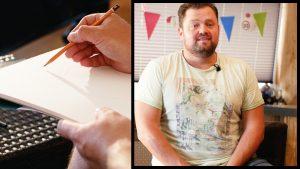 Frans Duijts tekent zichzelf: 'Onder de honderd kilo ben ik mezelf niet meer'