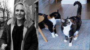 Actrice Sanne Langelaar (33): 'Mijn katten maken mijn leven écht leuker'