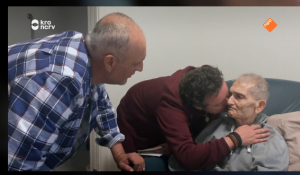 Marius (geboren als Margriet) ontmoet zijn vader nét op tijd in 'Spoorloos'