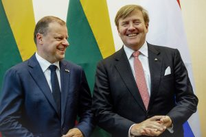 Koning Willem-Alexander miste 'zijn maatje' tijdens staatsbezoeken Baltische landen