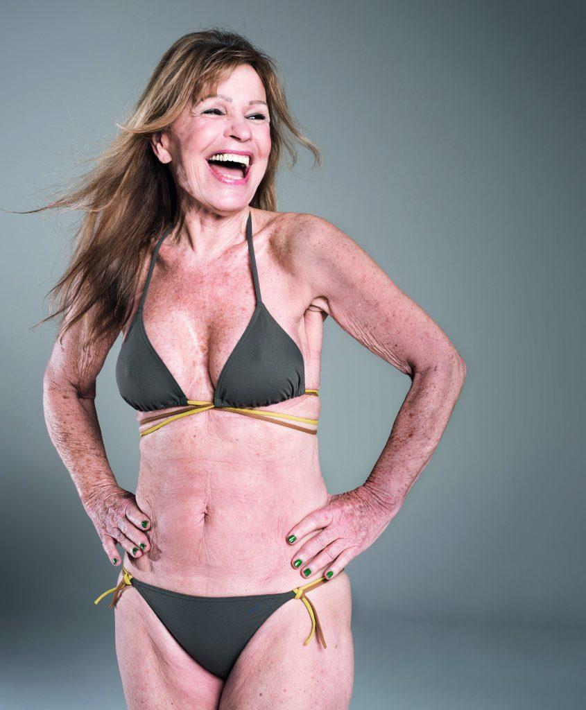 Grootje in d'r blootje: Dorothea (74) poseert in bikini in LINDA.167