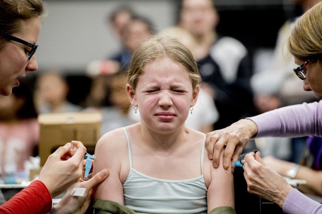 Steeds minder meisjes laten zich inenten tegen baarmoederhalskanker