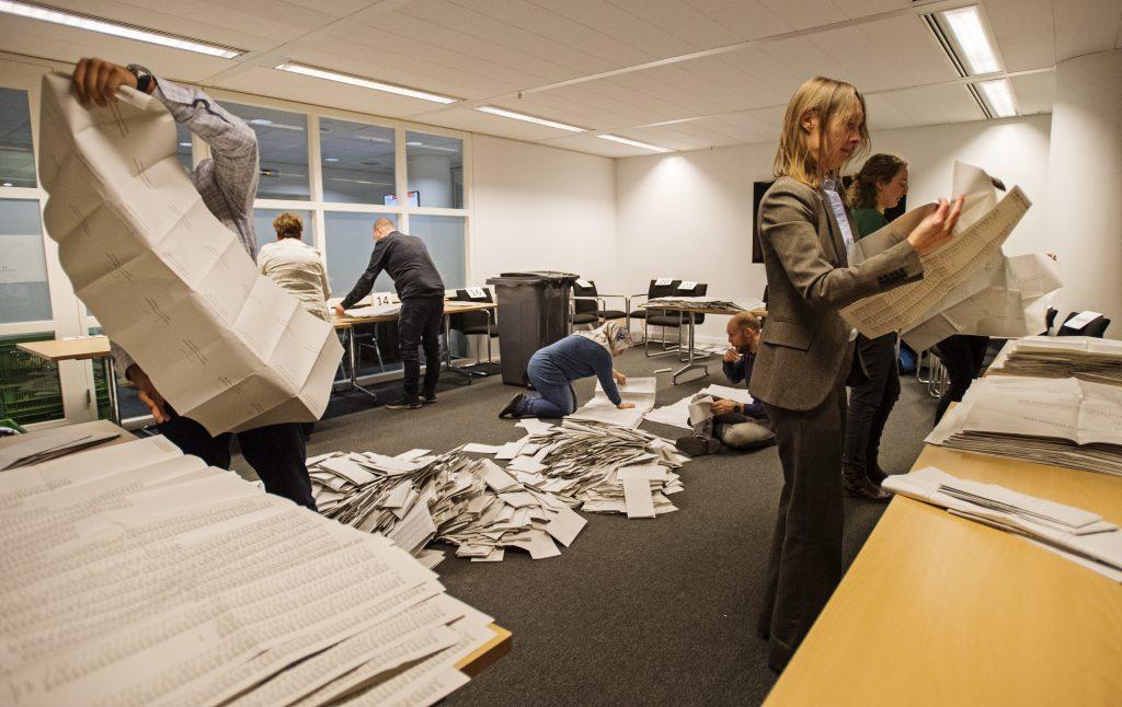 Software voor tellen van stemmen gemeenteraadsverkiezingen zou wél veilig zijn