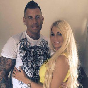 Samantha 'Barbie' de Jong en ex Rolf Tangel weer bij elkaar