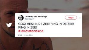 'Temptation Island' in 20 tweets: van lekker (kort) samenwonen tot...'Timtation'