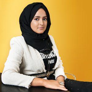 Salima (29) heeft haar eigen label: 'Van mijn spaargeld maakte ik een collectie couture jurken'