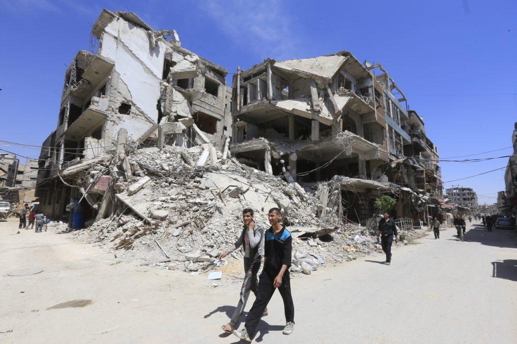 Rusland: zeventien Syrische 'slachtoffers' van gifgasaanval Douma naar Den Haag
