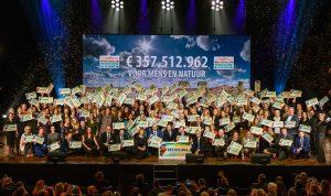 LINDA.foundation ontvangt cheque van € 500.000 tijdens Goed Geld Gala