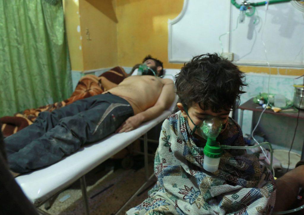 Kind omgekomen bij gifgasaanval Syrië, VN-baas roept op deze 'hel op aarde' te stoppen
