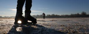 Man (75) die door ijs zakte in Brabantse Hank overleden