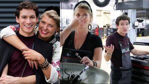 Bloed, zweet en motorolie: Mika en Pauline sleutelen mee in de autogarage