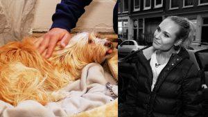 Acteur Géza Weisz over z'n angst dat hij z'n hond Sjaantje heeft getraumatiseerd