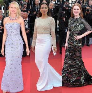 9 x parels op de rode loper in Cannes