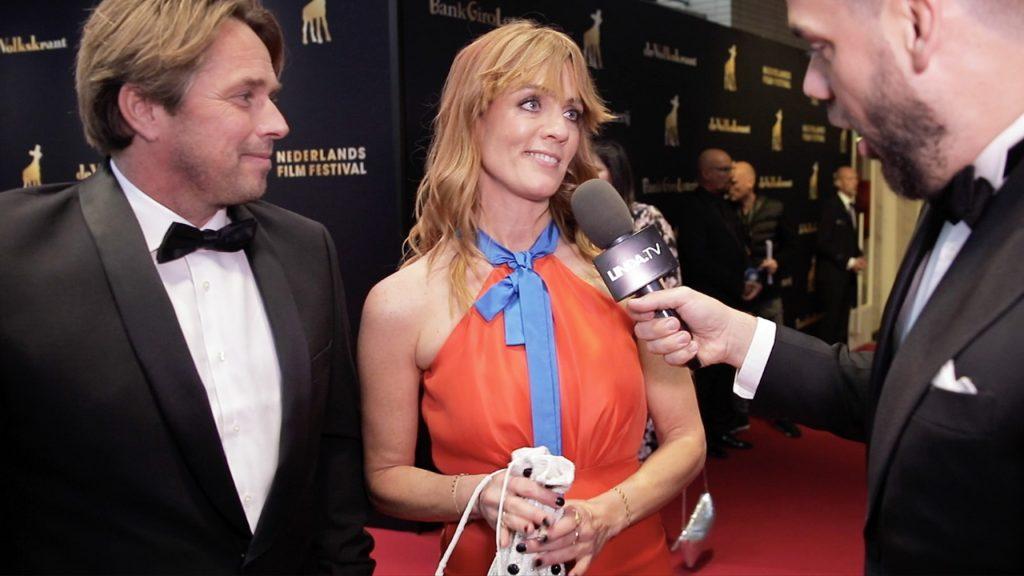 Polderglamour of écht Hollywood: Janice bij uitreiking Gouden Kalveren