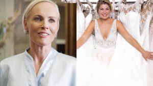 Bruid Roos geeft lot uit handen: haar familie en Pauline zoeken de perfecte trouwjurk