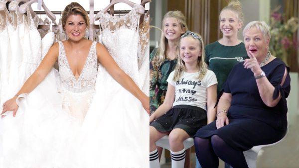 Daar komt de bruid(sjurk): Roos onthult haar keuze