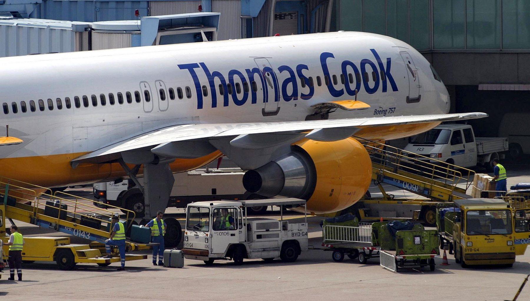 Thomas Cook maakt nogal 'lullig foutje' met vliegtuigbedrukking