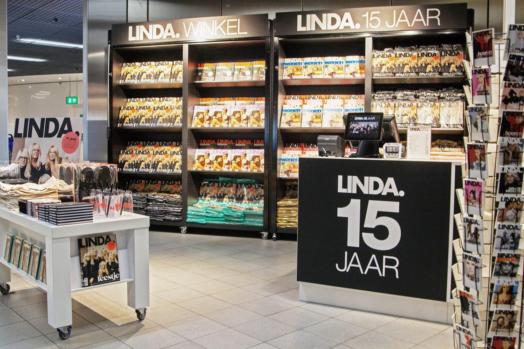 Reizigers opgelet: LINDA. heeft tijdelijk een eigen brandstore op Schiphol