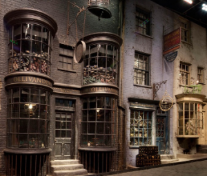 Het Harry Potter straatje nu ook in Google Maps