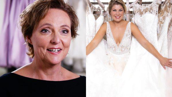 Familie zoekt trouwjurk uit voor (nog niet officieel gevraagde) bruid Jacqueline
