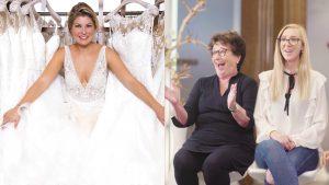 (Nog niet officieel gevraagde) bruid Jacqueline kiest trouwjurk: 'Dit is 'm gewoon'
