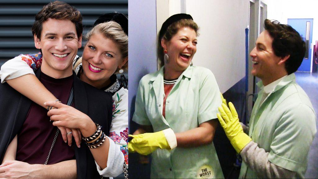 Mika en Pauline zijn housekeepers: 'Jullie hebben er een zooitje van gemaakt'
