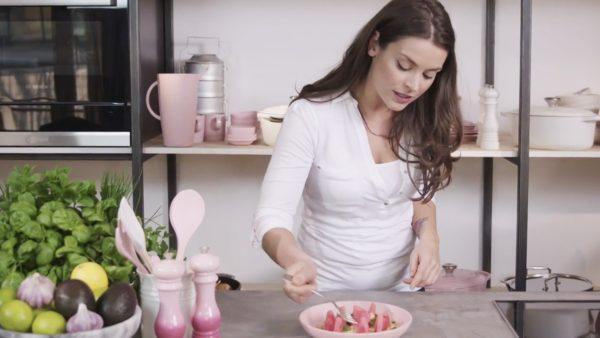 Kokos, feta en watermeloen: de perfecte combinatie voor een exotische salade