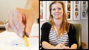 Babette van Veen kan knalrood kapsel wel vergeten: 'Dat gesprek ga ik niet winnen'