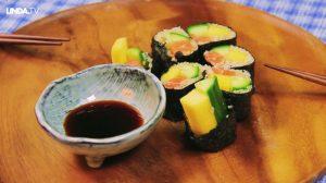 Nieuw jaar, nieuwe kansen: sushi en quinoa. Bijzondere combinatie en écht een traktatie