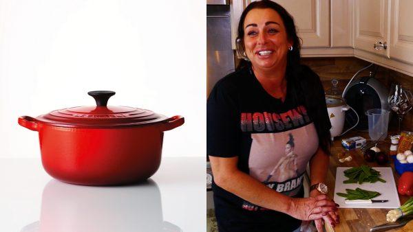 Tonia maakt kip kerrie: 'Met een beetje van mezelf en een beetje van Maggi'
