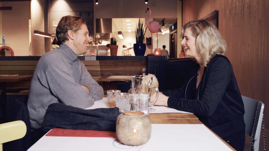 Kyra en Nieuw-Zeelander Theo bewijzen maar weer: een blinddate loopt niet altijd goed af