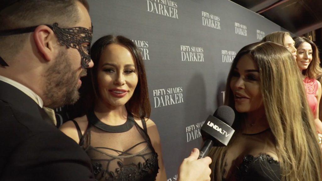 Hysterie bij de meest sexy première van het jaar: Fifty Shades Darker