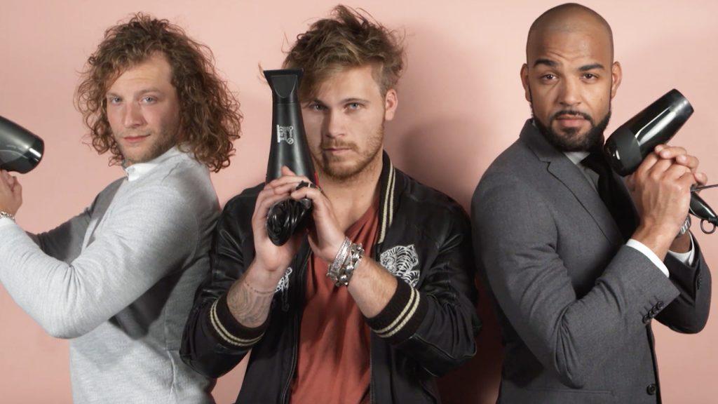 Pascal, Mike en Frank, de leukste mannen van Nederland, hebben een vraag voor jou