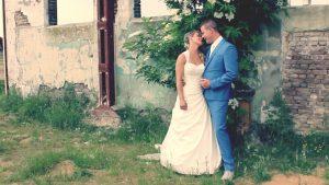 De trouwdag van Madelon&Bas. Bruidskoningin Mary Borsato is ook van de partij.