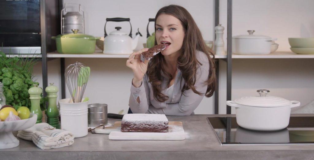 Deze combinatie is verrassend lekker: chocolade-courgettecake