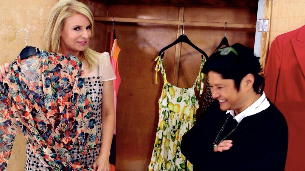 Presentatrice Pernille La Lau toont ons haar zonnige kledingkast