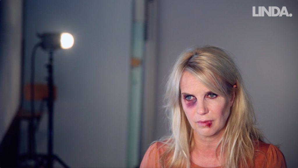 Linda de Mol staat op tegen huiselijk geweld
