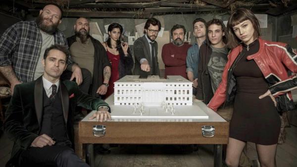 derde seizoen la casa de papel