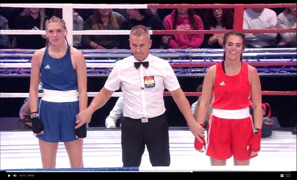 Keiharde klappen voor Jessie Jazz Vuijk en Laura Ponticorvo in 'Boxing Stars'