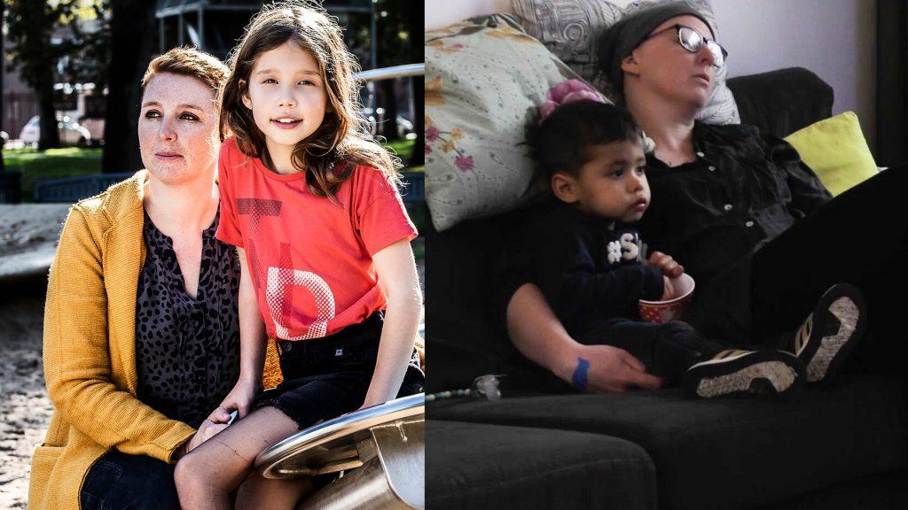 'Na elke zware chemo moet mama een paar dagen weg, superzielig'