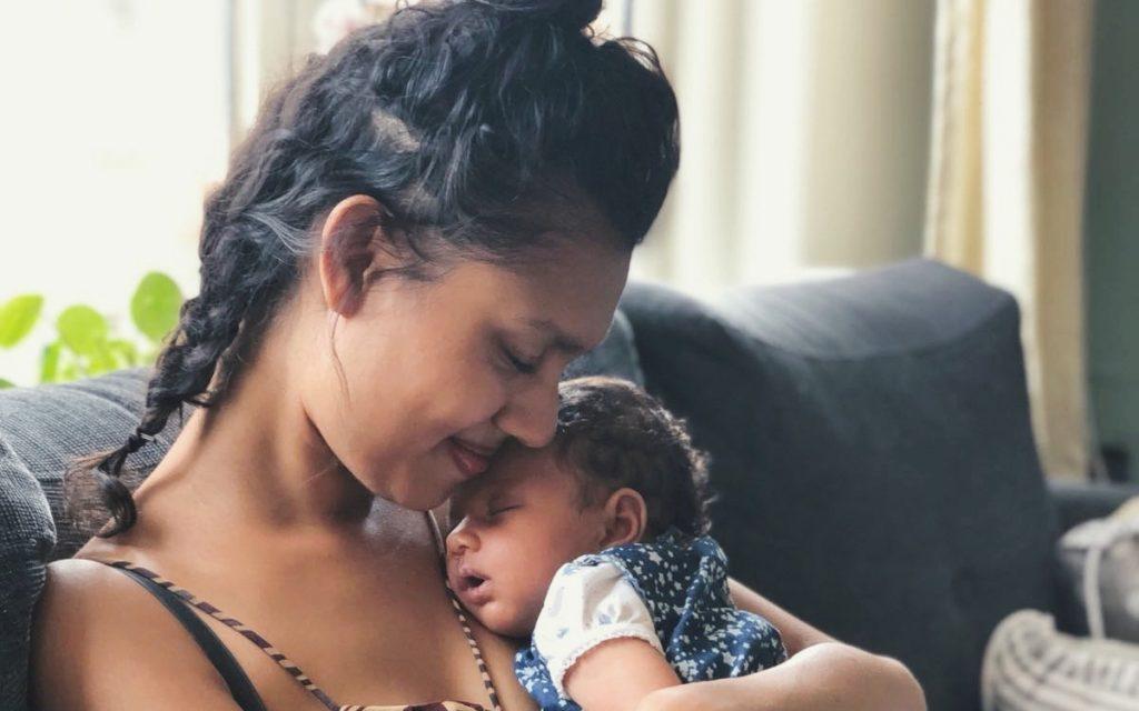 Talita woog aan het einde van haar zwangerschap 55 kilo: 'Ik ging aan mezelf twijfelen'