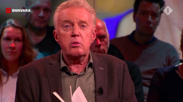 André van Duin bezorgt kijkers kippenvel door voorlezen boek Martine Bijl in 'DWDD'