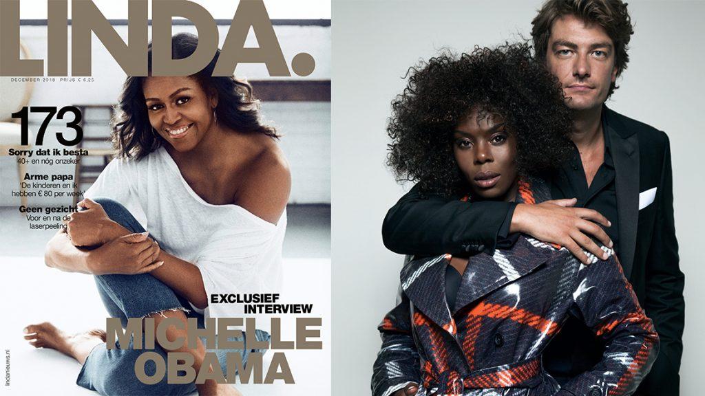 LINDA.173 'Michelle Obama' ligt – zonder Linda op de cover – woensdag in de winkel